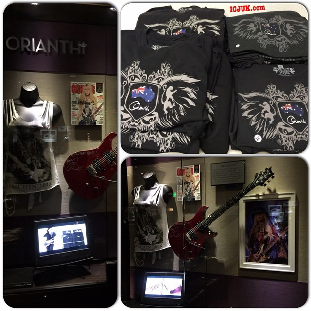 Orianthi Tee Shirt Design
