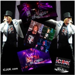 Def Leppard performed their new song, LET'S GO, live for the first time in Moline Illinois.
