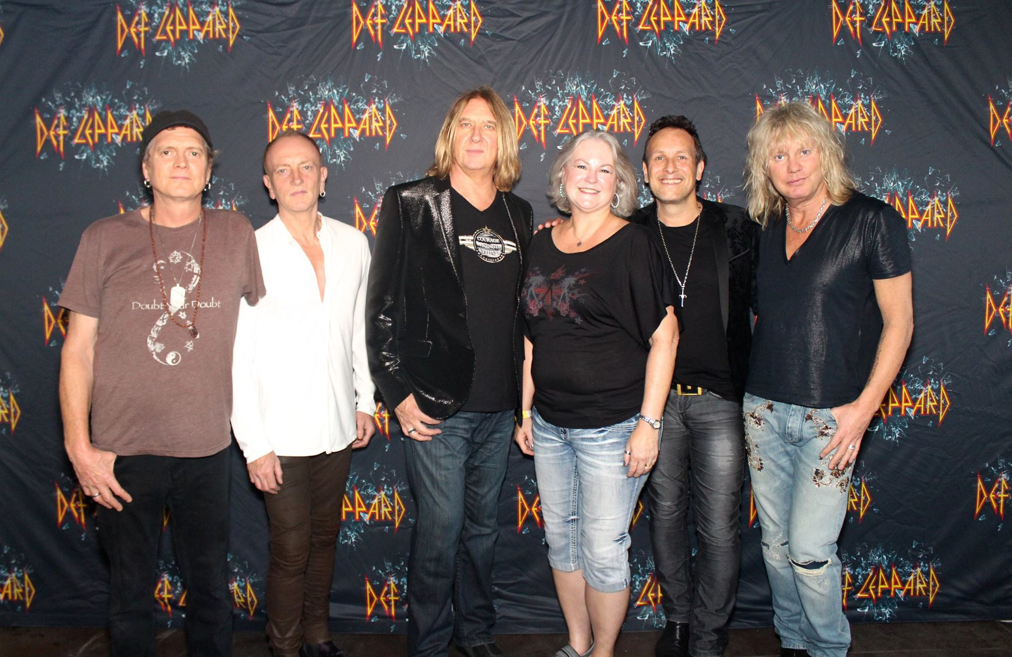 Def Leppard Meet Greets With Icjuk Designs