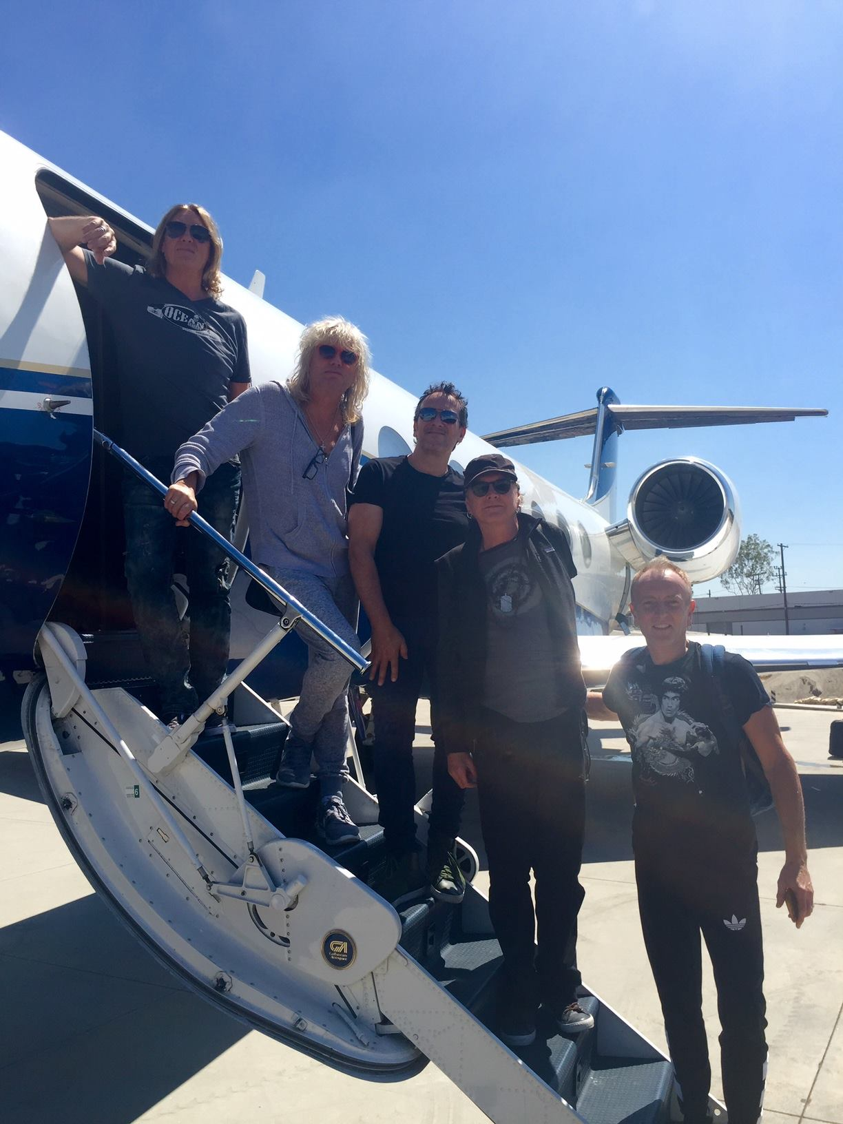 Joe Elliott from Def Leppard in Signature Ocean Anarchy Collection
