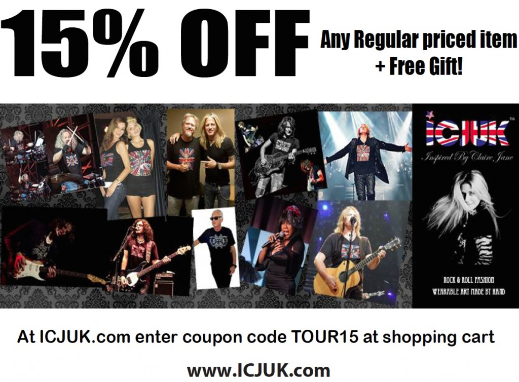 15Percent Off plus Free Gift - Tour15