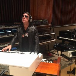 Keyboardist Extraordinaire Derek Sherinian rocks ICJUK Designs