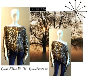 Leopard print top limited edition