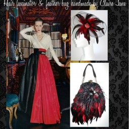 Gothic theme Red & Black