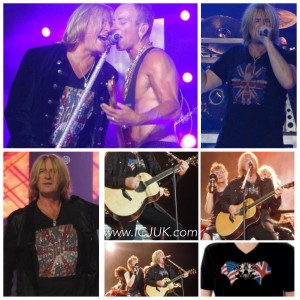 Joe Elliott on Stage in ICJUK