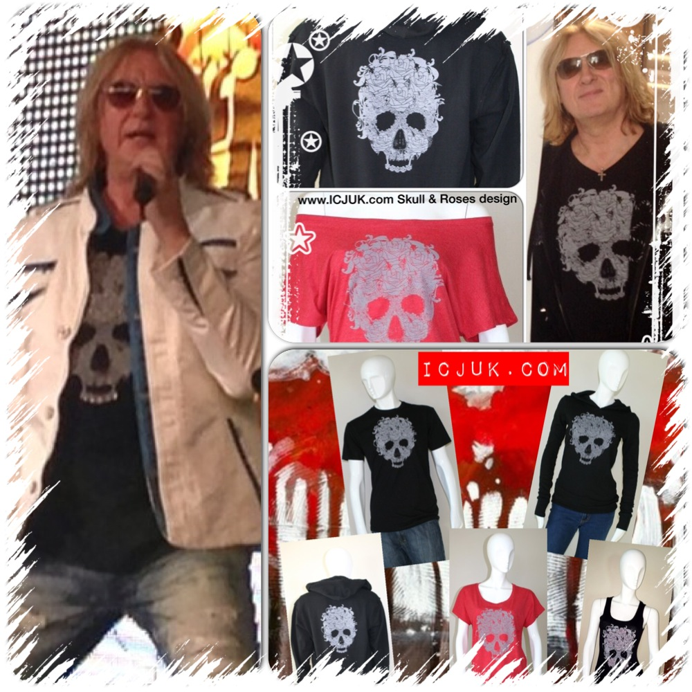 Skull & Roses Design