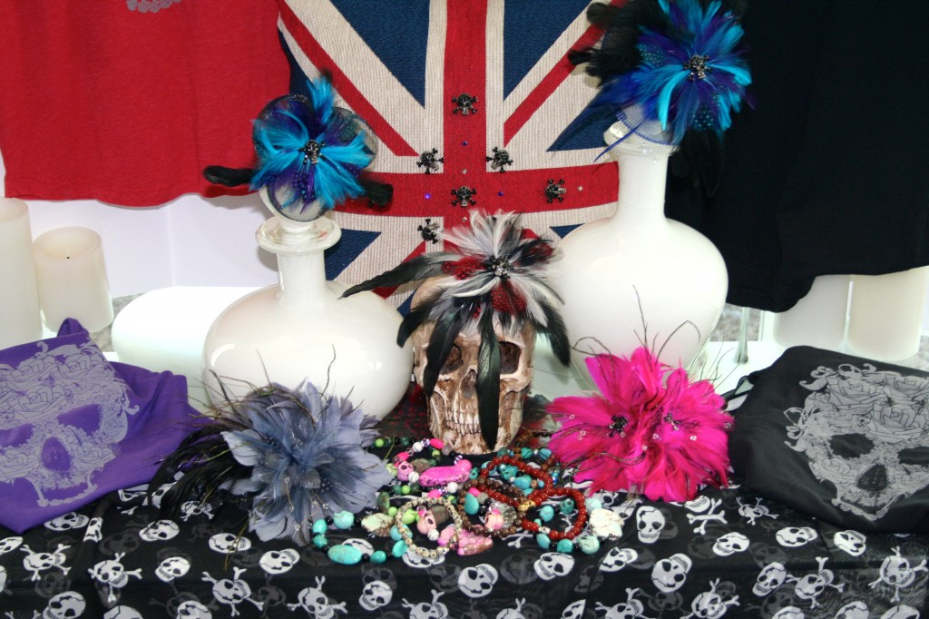 halloween feathers and hair fascinators