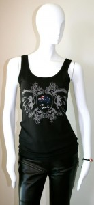 Black Tank top orianthi