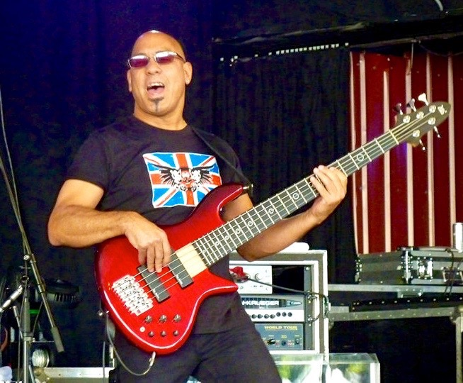 Carmine Rojas in the ICJUK Union Jack Skull & Wings Design