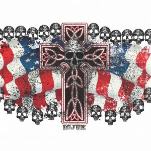Cross Skulls 3