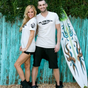 Unisex Sand V Neck Ocean Anarchy