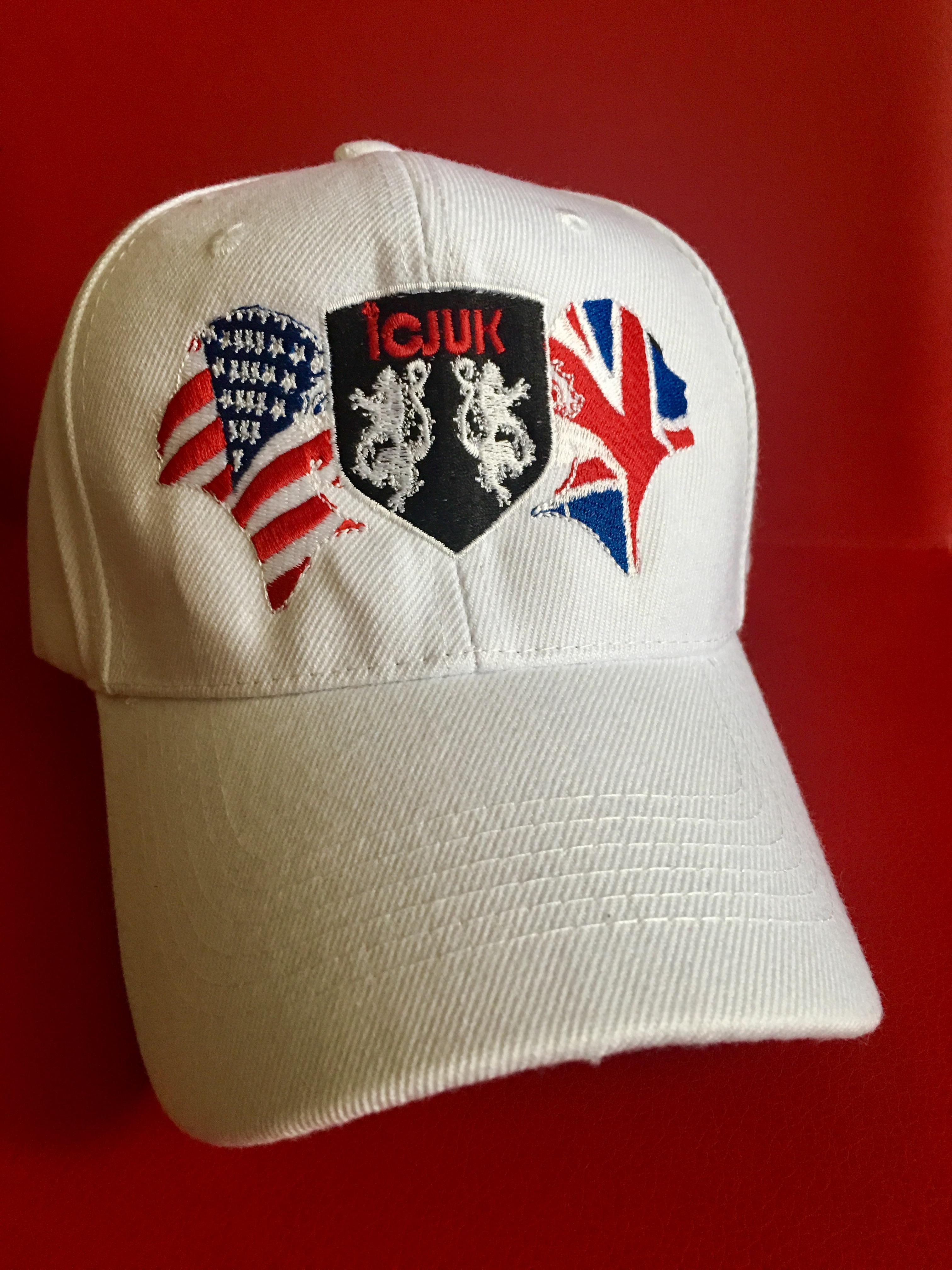 Embroidered Icjuk Rock Amp Roll Union Jane Baseball Cap