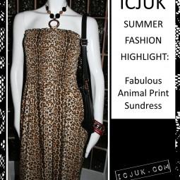 Summer Fashion Highlight: Fabulous Animal Print Dress