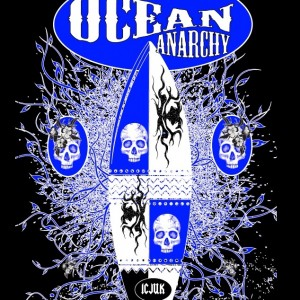Ocean Anarchy design is the latest design from ICJUK
