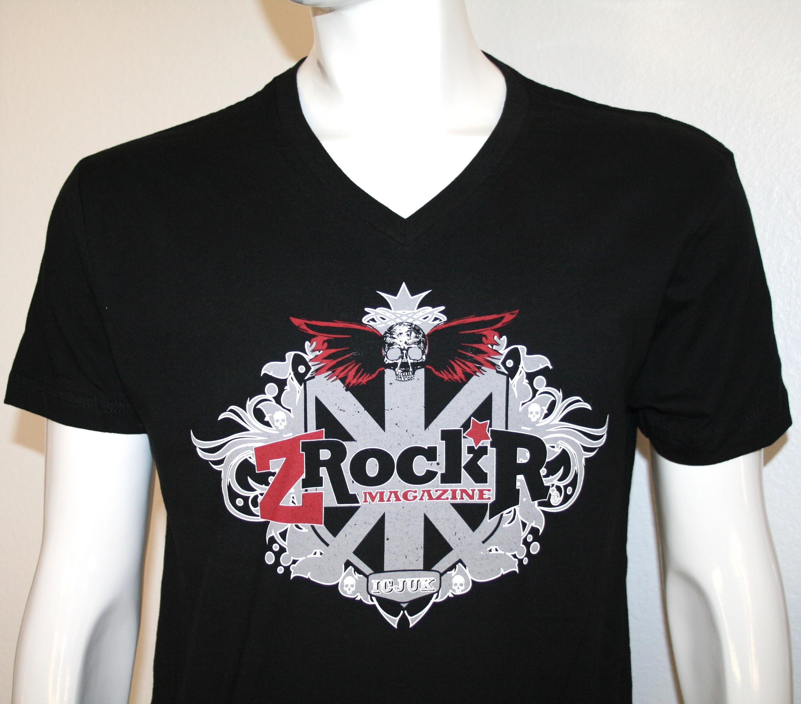ZRockr magazine tee shirt design