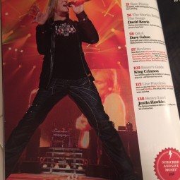 ICJUK Shirts seen in Classic Rock Magazine with Def Leppard.