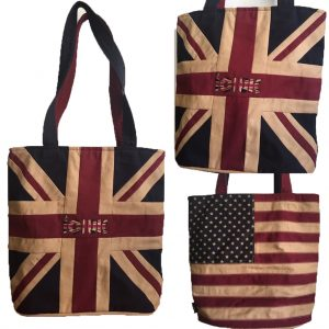 ICJUK UK & USA TOTE HANDMADE