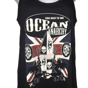 Union Jack Ocean Anarchy ladies racer back tank