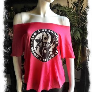 Shocking Pink Dolman