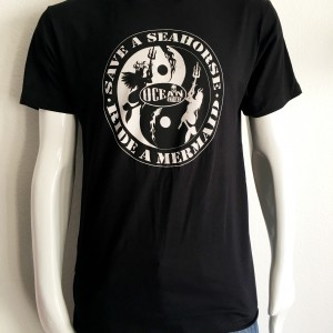 ICJUK's 'Save a Seahorse, Ride a Mermaid' 2016 Design. Ocean Anarchy.
