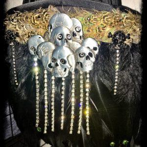 Rock and Roll Skull Handbag