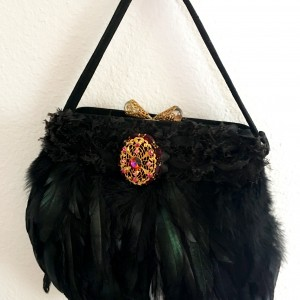 Vintage Filagree Fashion Handbag