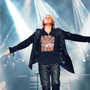 Joe Elliott in ICJUK Musicfest Tee
