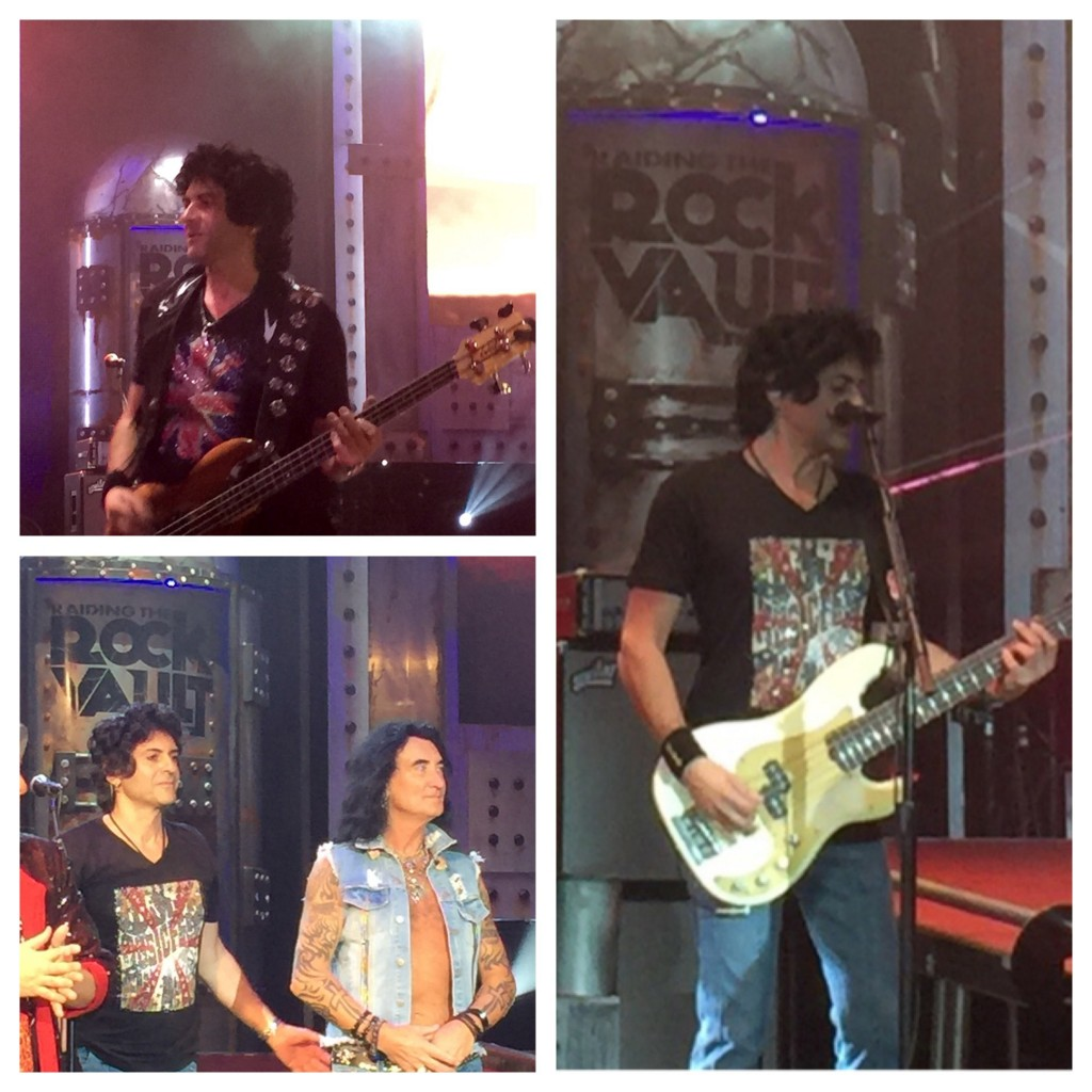 Phil Soussan performing at Raiding the Rock Vault in Las Vegas