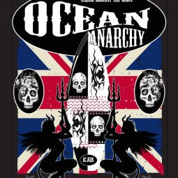 The story behind the Union Jack Ocean Anarchy Design by Claire Jane.