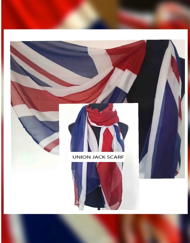 New Union Jack Scarf