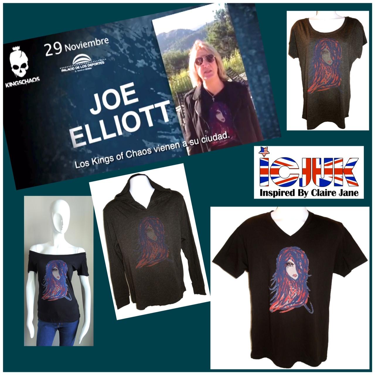 Joe Elliott in Flaire