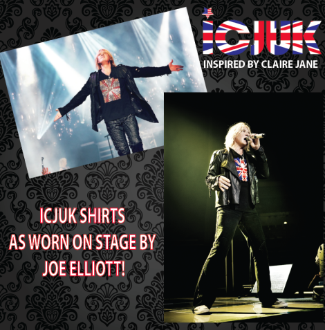 icjuk shirts as worn by Joe Elliott