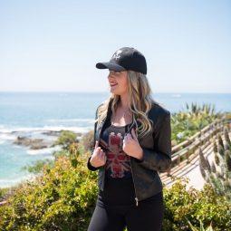 Photoshoot in Laguna Beach with Chelsea and photos by Savannah sporting ICJUK & Ocean Anarchy