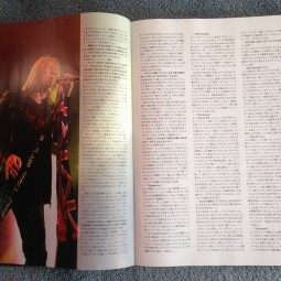 The December 2015 issue of #Burrn! magazine contains a fabulous 18 page Def Leppard article.