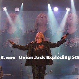 Union Jack Exploding Star