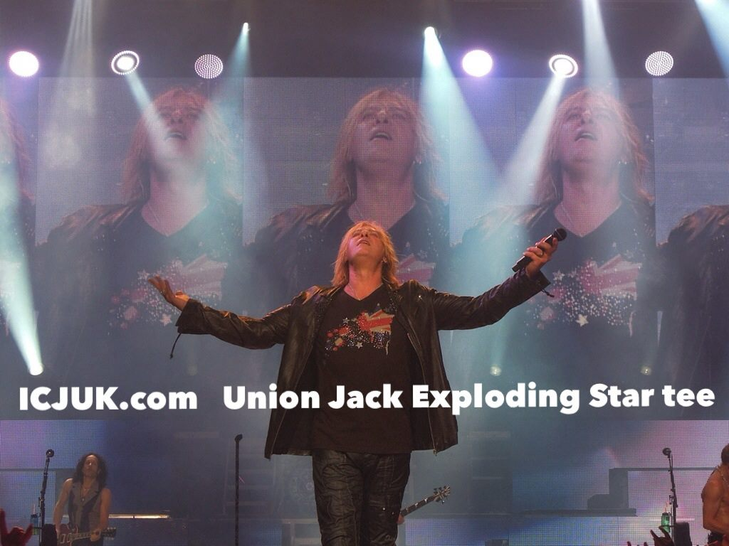 Joe Elliott Union Jack Exploding Star
