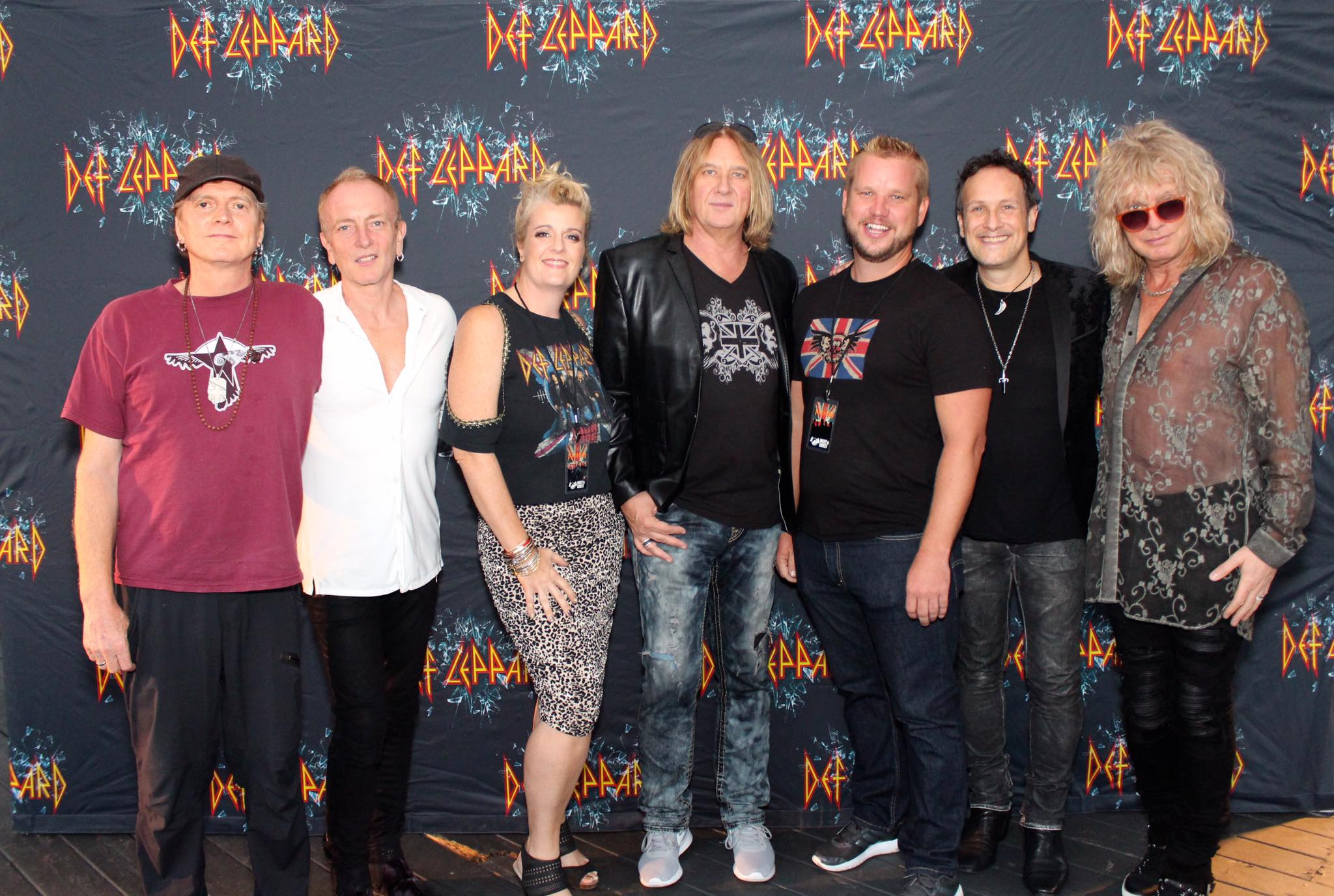 Irvine M&G, 2016 - Joe was in the black & white lions crest & wings. Lena's husband was in the classic original ICJUK Union Jack with skulls & wings.