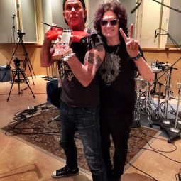Iconic Bassist Glenn Hughes Rocks the ICJUK Skull & Roses design