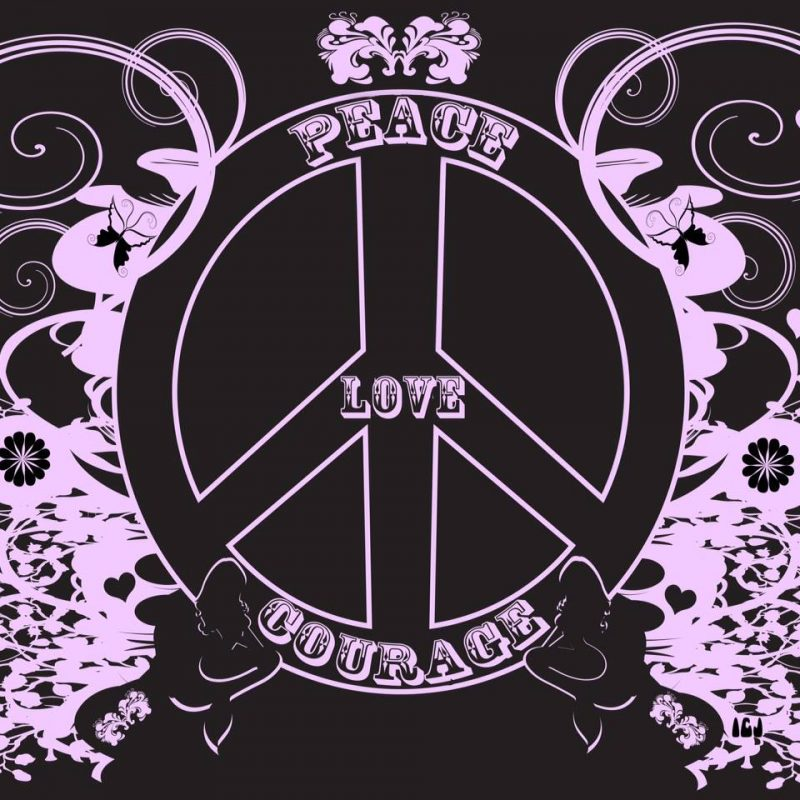 Peace Love Courage