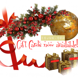 Get a gift certificate just for shopping this holiday season!