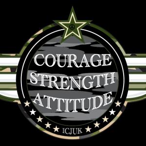 Courage Strength Attitude