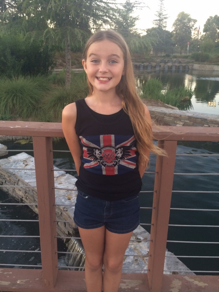 Union Jack Thorn Heart and Wings design available in junior sizes
