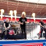 Joe elliott and def leppard in icjuk tee