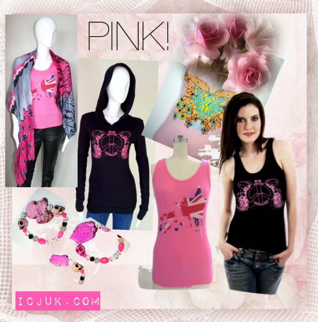 October Pink fashions for breast cancer awareness