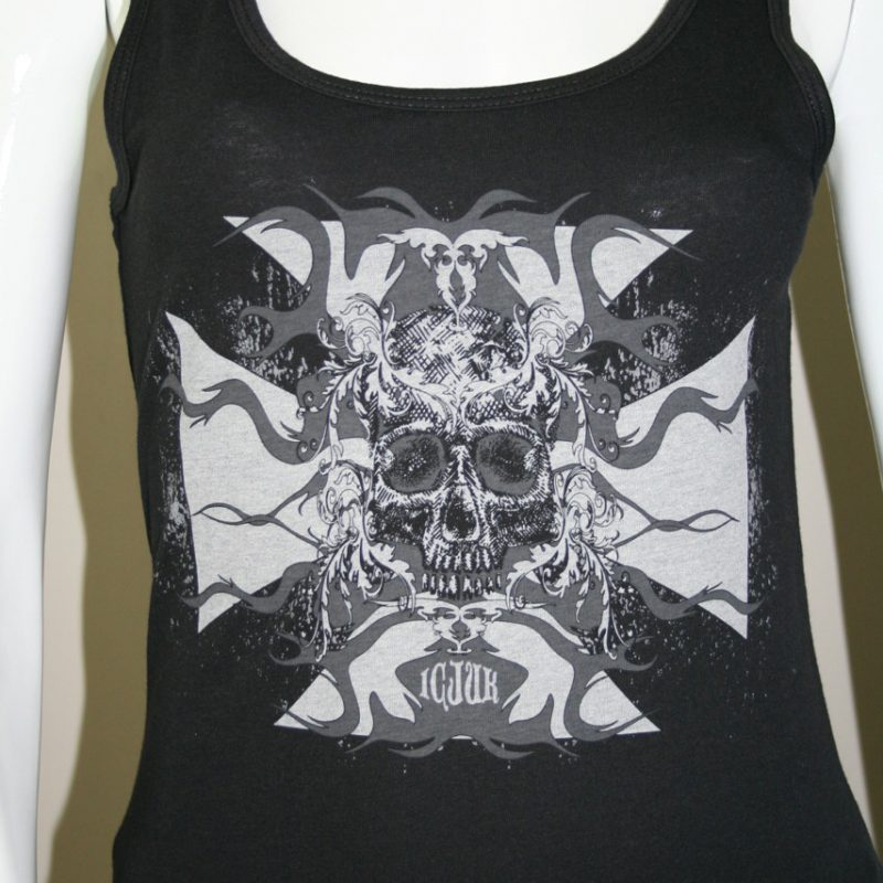 slow ride black tank top