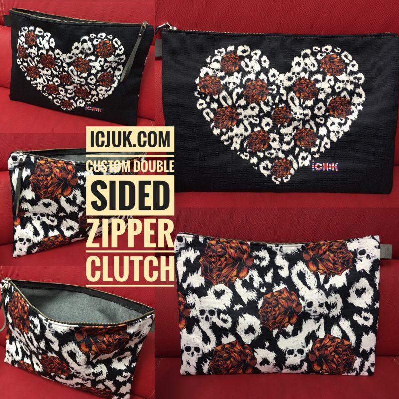 Zipper Clutch Bag