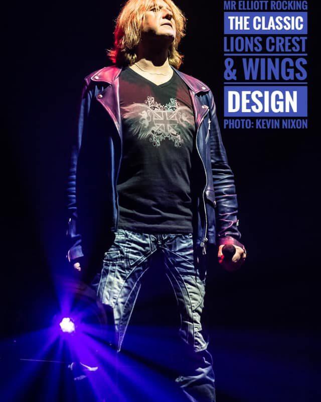 Lions Crest & Wings