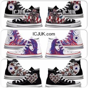 Custom Designer Converse Chuck Taylors
