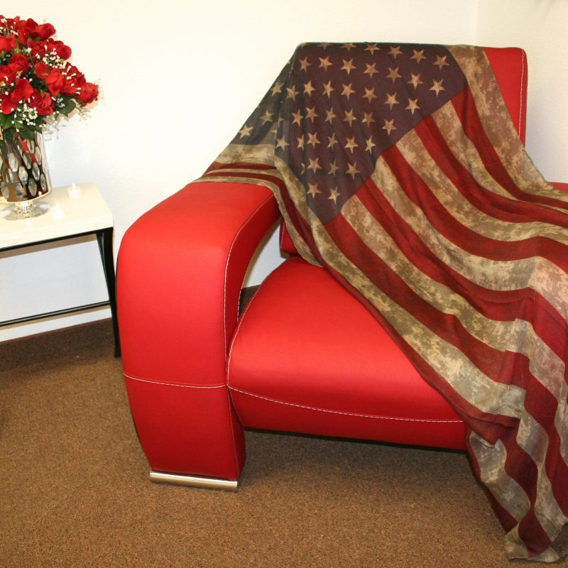 USA Flag Scarf