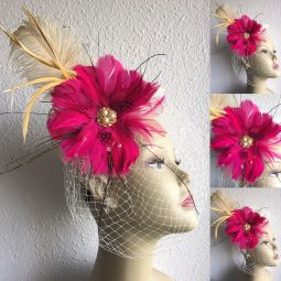 Handmade One of a kind Fabulous Fun Hair Accessories AKA Hair Fascinators